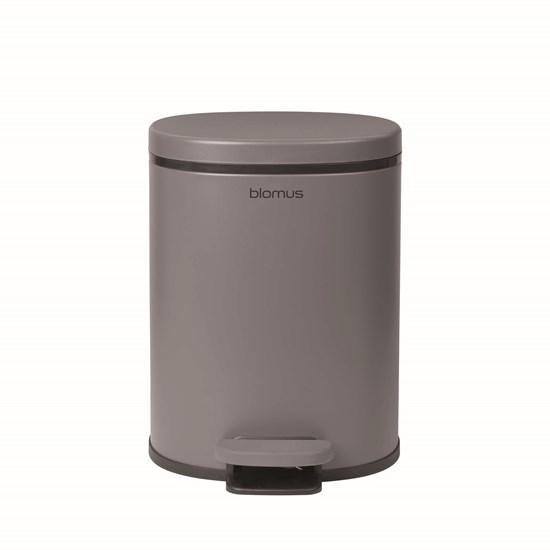 Kosmetický odpadkový koš šedý_0