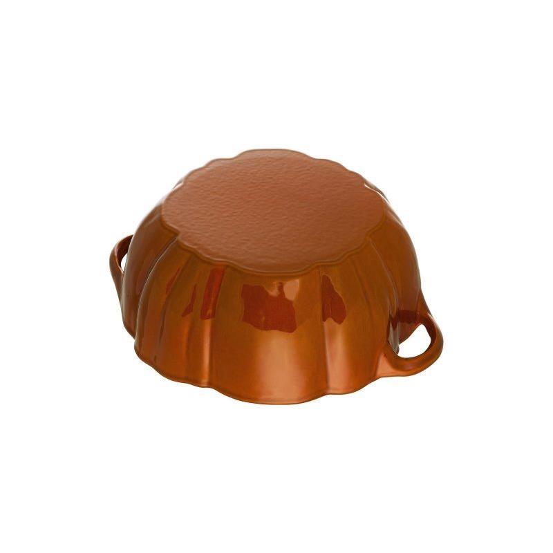 Hrnec ve tvaru dýně 24 cm skořicový_3