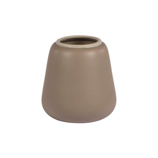Váza AIKO 15,5 cm sv. hnědá_0