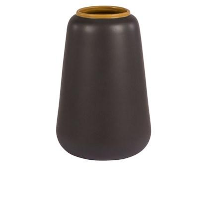 Váza AIKO 27 cm tm. hnědá_0