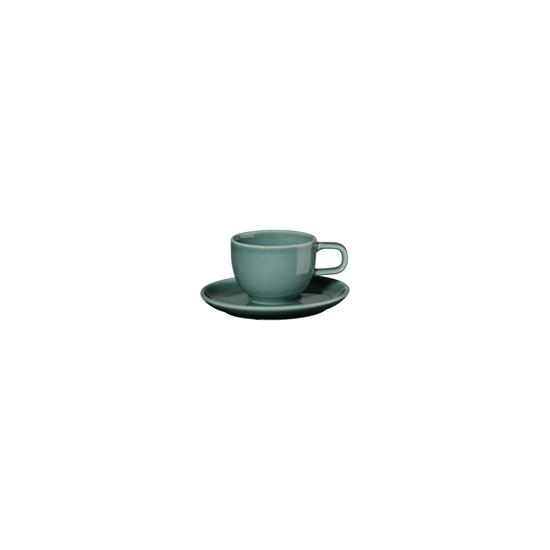 Šálek na espresso s podšálkem KOLIBRI 60 ml, petrolejový_0