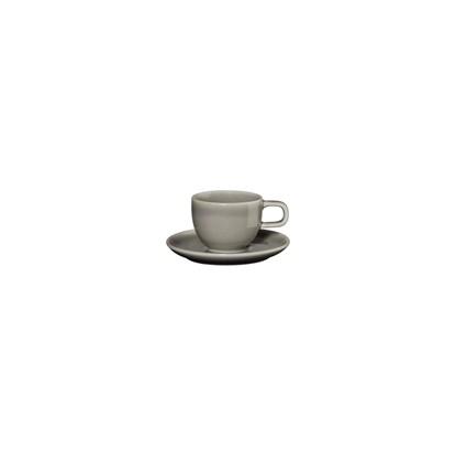 Šálek na espresso s podšálkem KOLIBRI 60 ml, šedý_0