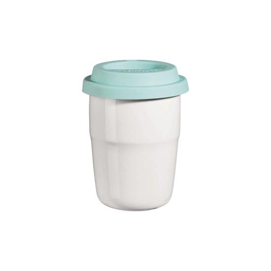 Termohrnek CUP & GO - bílý, 0,2 l_0