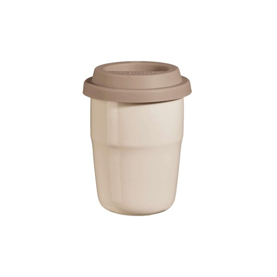 Termohrnek CUP & GO - béžový, 0,2 l_0