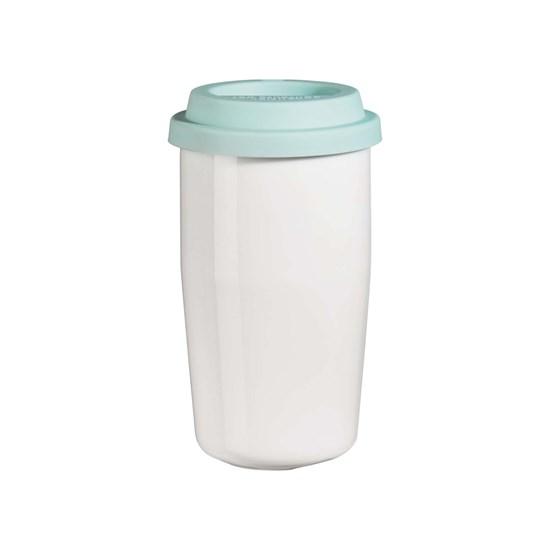 Termohrnek CUP & GO - bílý, 0,35l_0