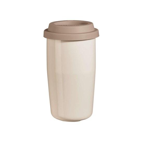 Termohrnek CUP & GO - béžový, 0,35l_0