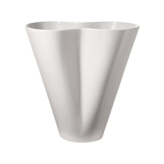 Váza BLOSSOM XL 40 cm, bílá_0