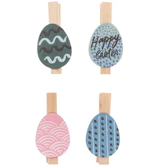 Dekorační kolíčky vajíčka malovaná SET/4 ks_1