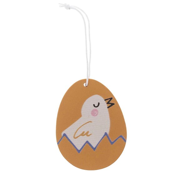Dřevěné závěsné vajíčko kuře_1