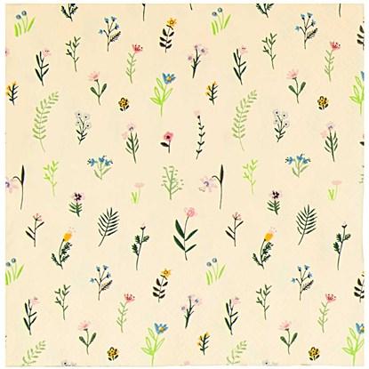 Papír. ubrousky FLOWERS bal. 20ks_1