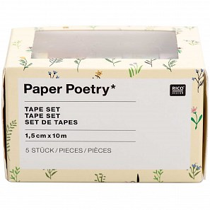 Lepicí páska na papír BUNNY HOP SET/5 ks_0