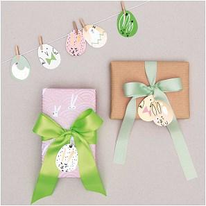 Papír. dekorace s kolíčky EGGS SET/8 ks_2