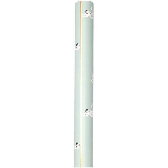Balicí papír BUNNY HOP 0,7x2 m mintová_4