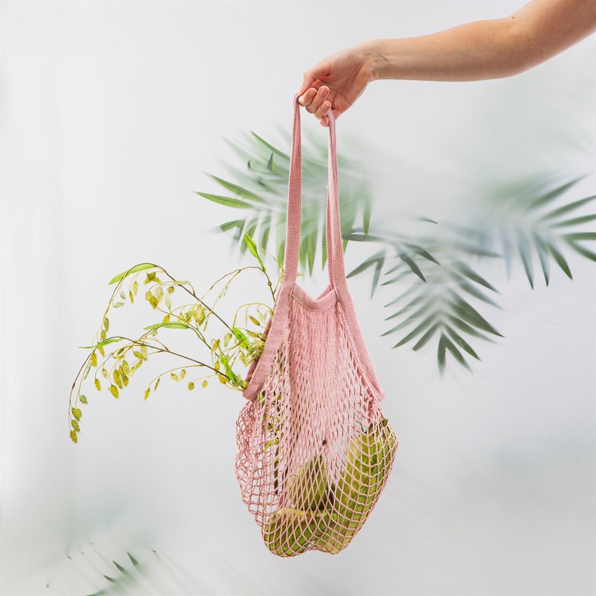 Nákupní taška/ Síťovka Pink String_0