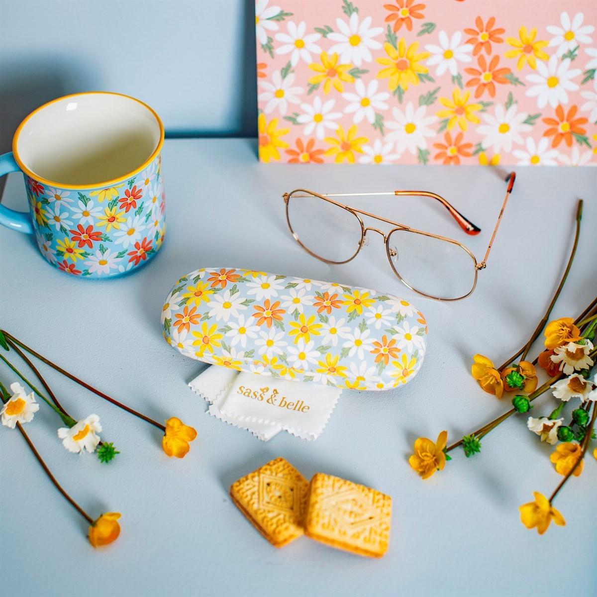 Pouzdro na brýle Blue Daisy_2