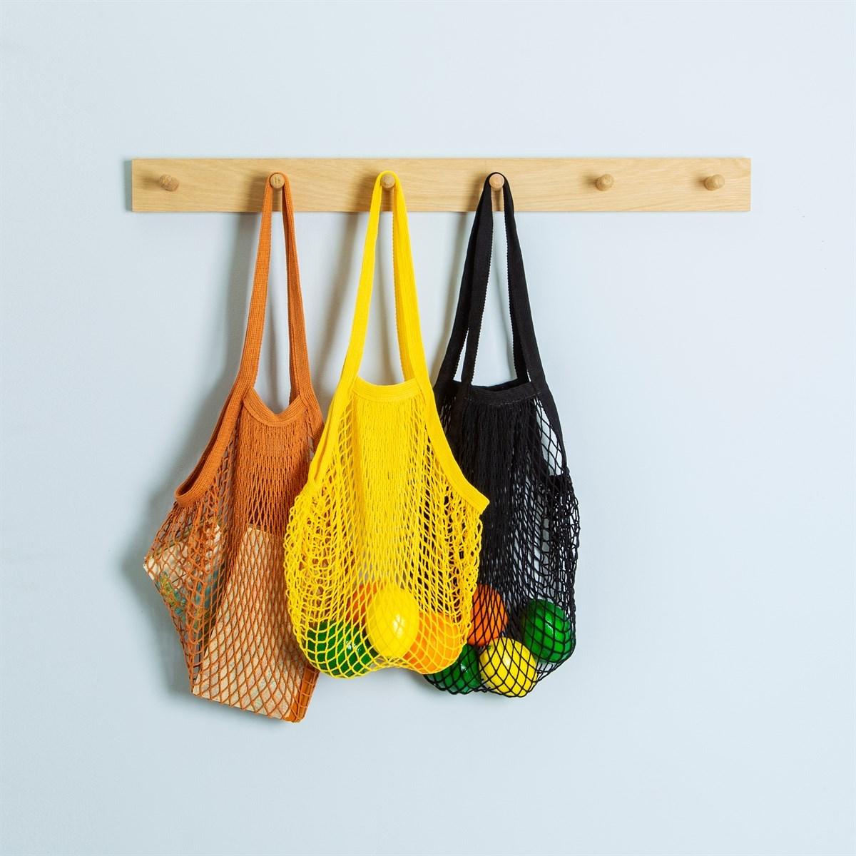 Nákupní taška/ Síťovka Black String_0