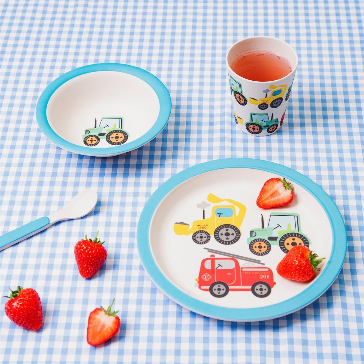Dětský jídelní set Farmyard Friends_0
