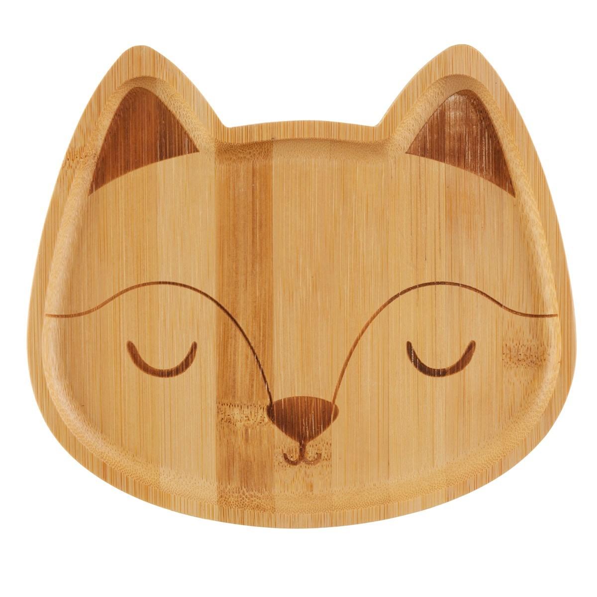 Bambusový talířek Woodland Fox_2
