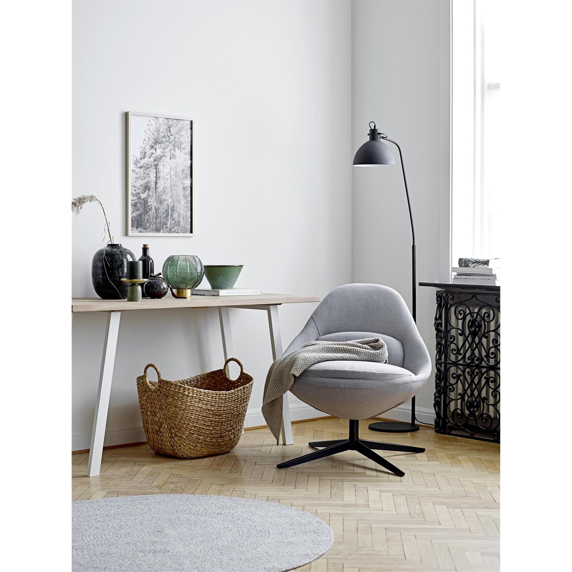 Koberec - šedý, 120 cm_1
