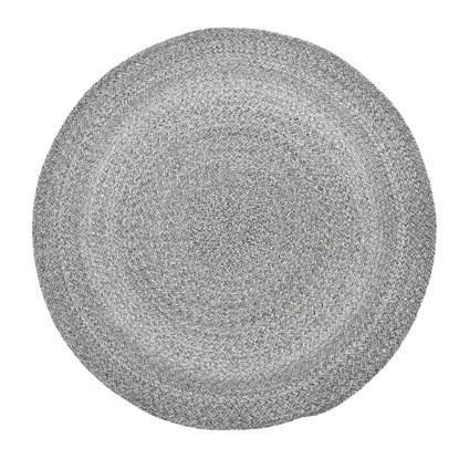 Kulatý koberec Gynna P.120 cm šedý_2