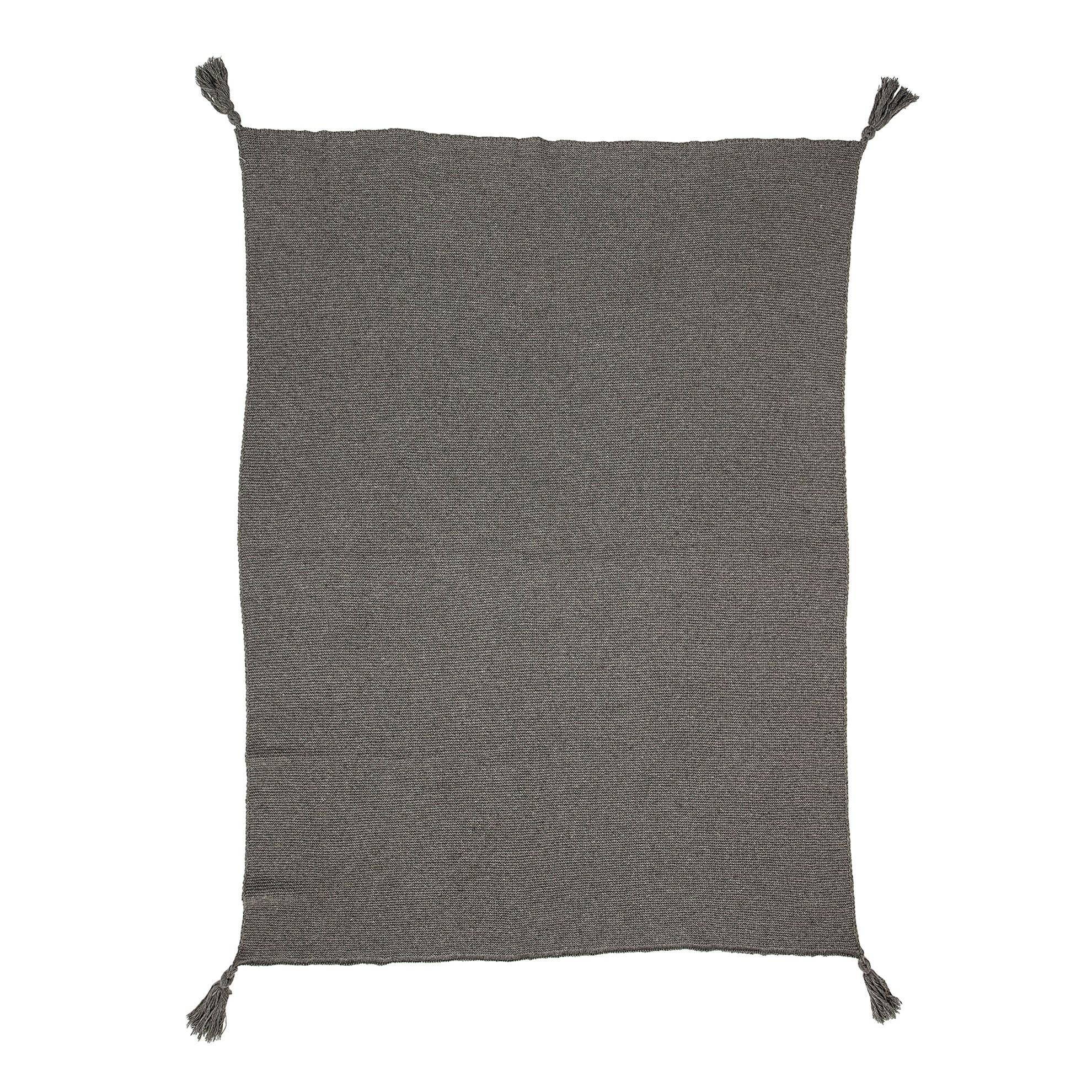 Přehoz - šedý, 170 cm_0