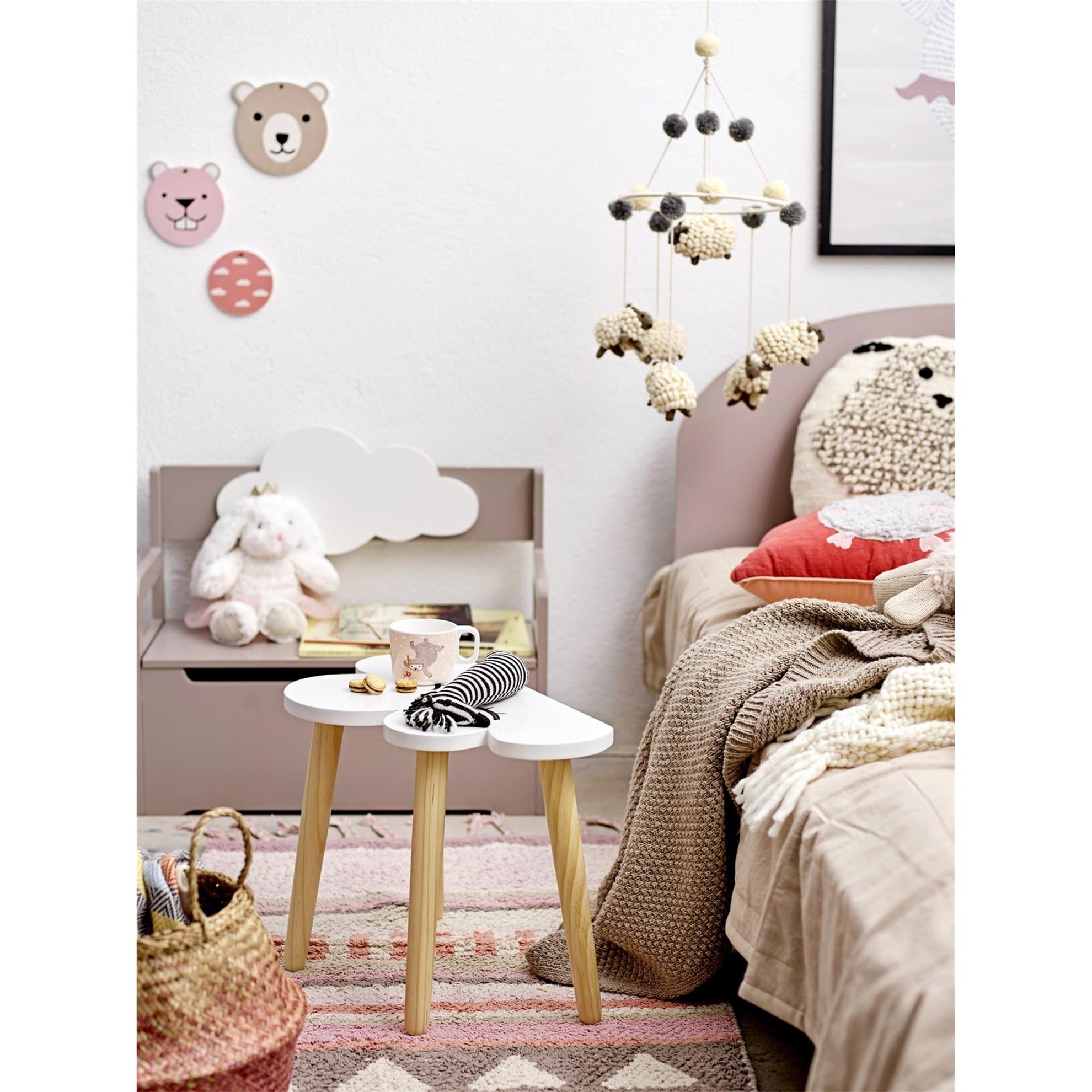 Dekorace na zeď - SET/3 - růžová_0