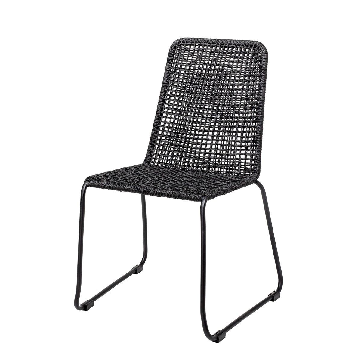 Jídelní židle Mundo - černá_0