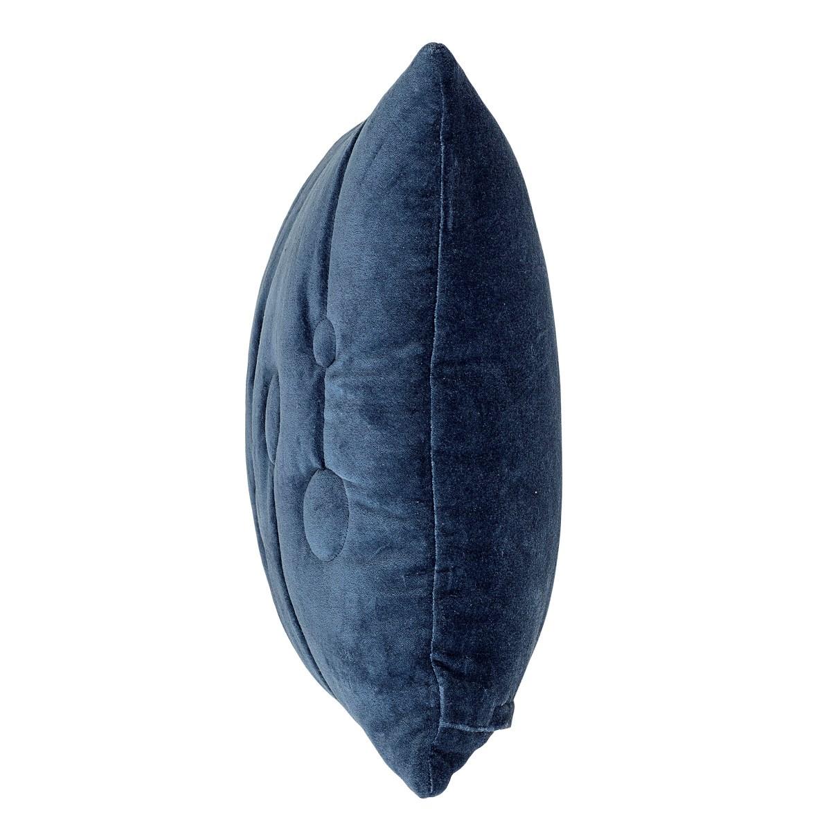 Polštář včetně výplně, 60x40 cm - modrý_2