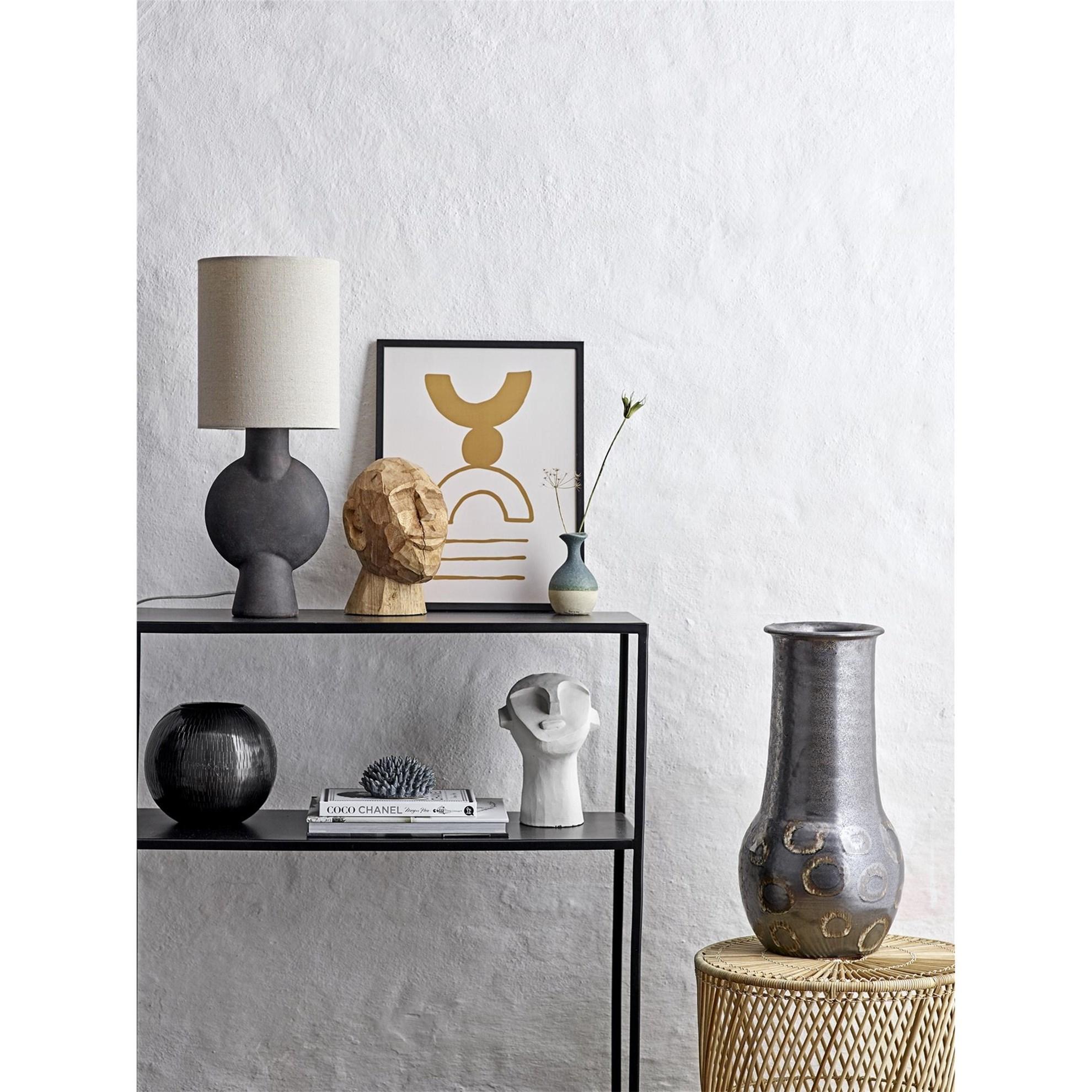 Stolní lampa - terakota, 54,5 cm_2