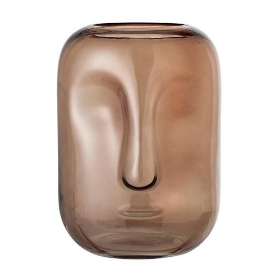 Skleněná váza Face V.25 cm_2