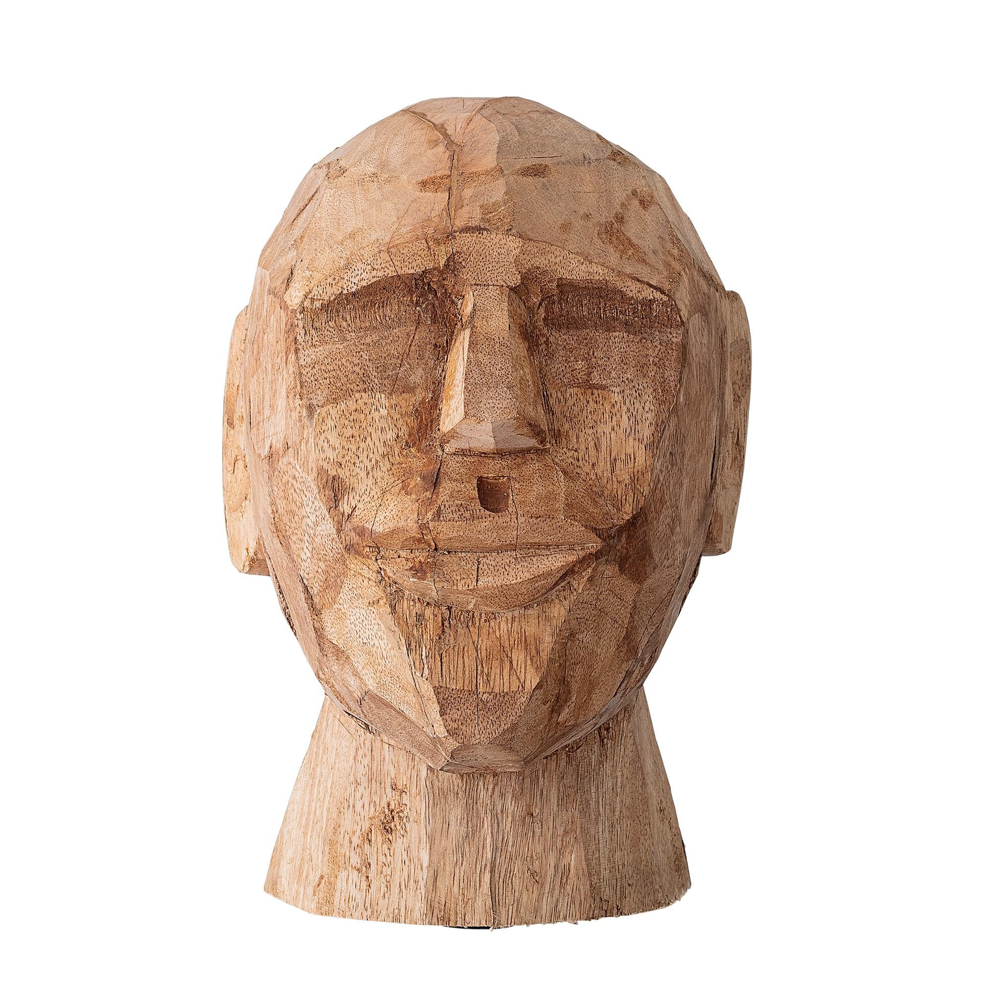 Dekorace do bytu - dřevěná socha, 24 cm_0