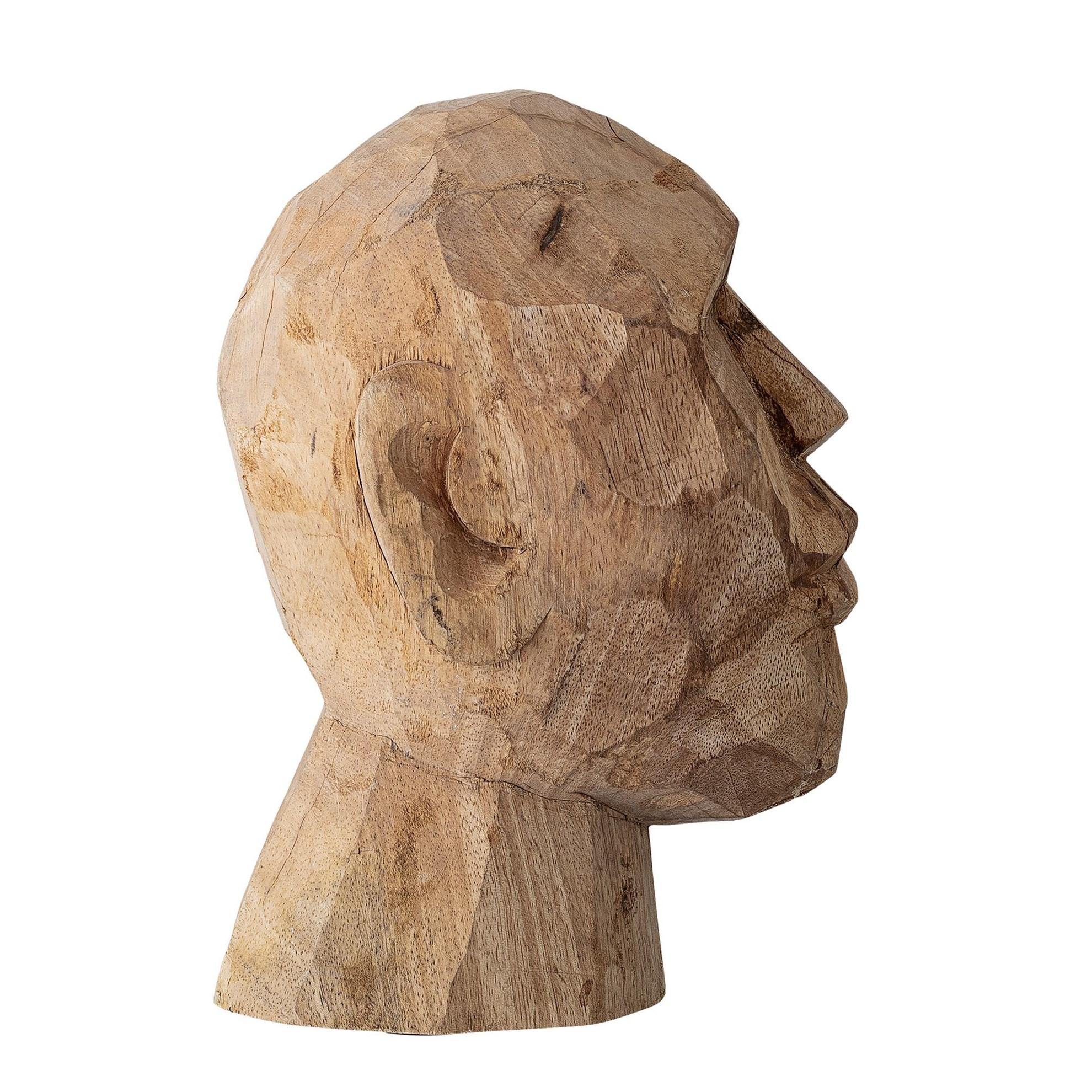 Dekorace do bytu - dřevěná socha, 24 cm_1