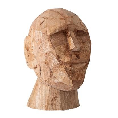Dekorace do bytu - dřevěná socha, 24 cm_3