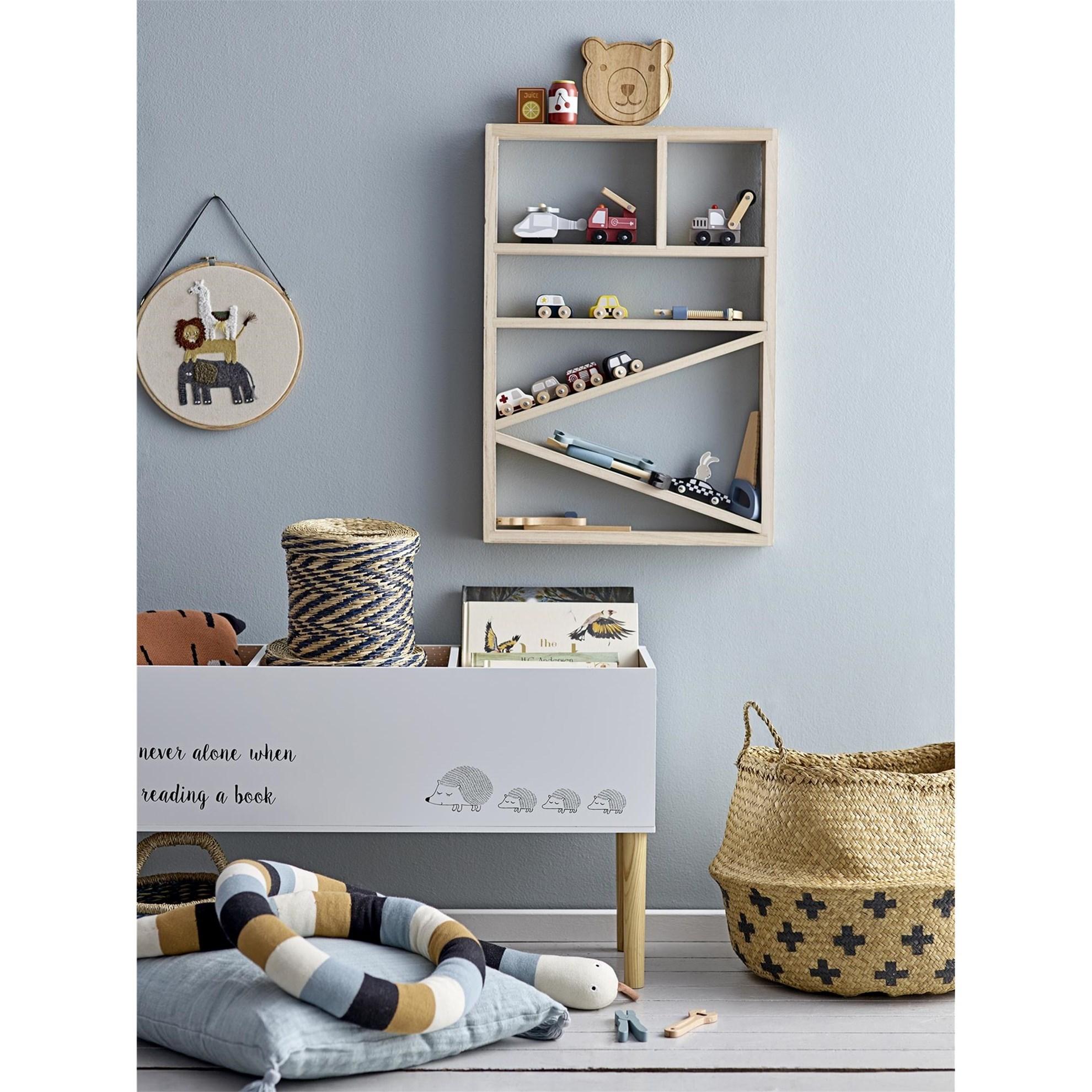 Dřevěná knihovna do dětského pokoje V.66 cm_1