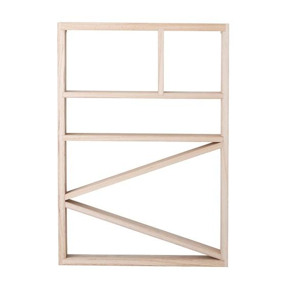 Dřevěná knihovna do dětského pokoje V.66 cm_2