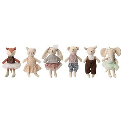 Měkká hračka - zvířátka SET/6ks, 16 cm_10