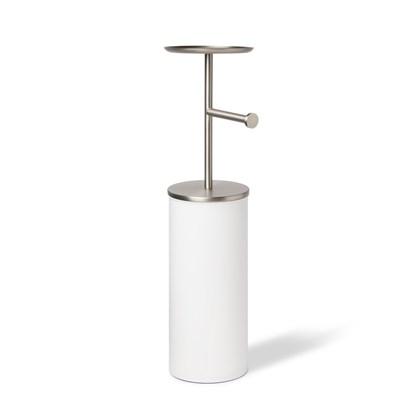 Držák na toaletní papír PORTALOO - bílá/nikl_5