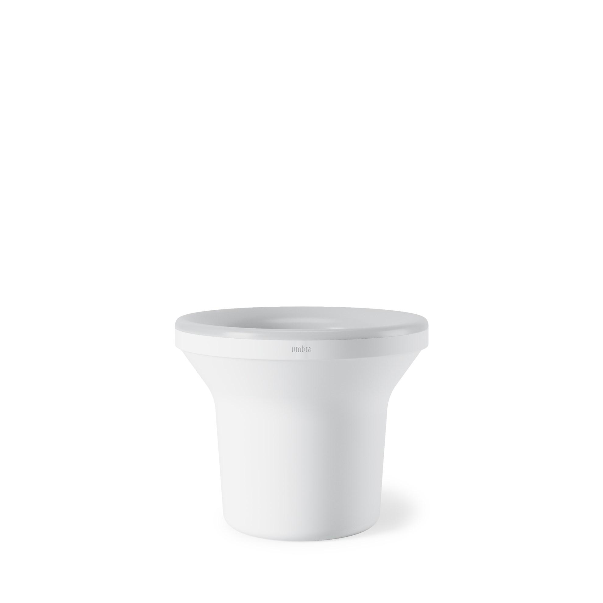 Květináč ORA, bílý - LED_5