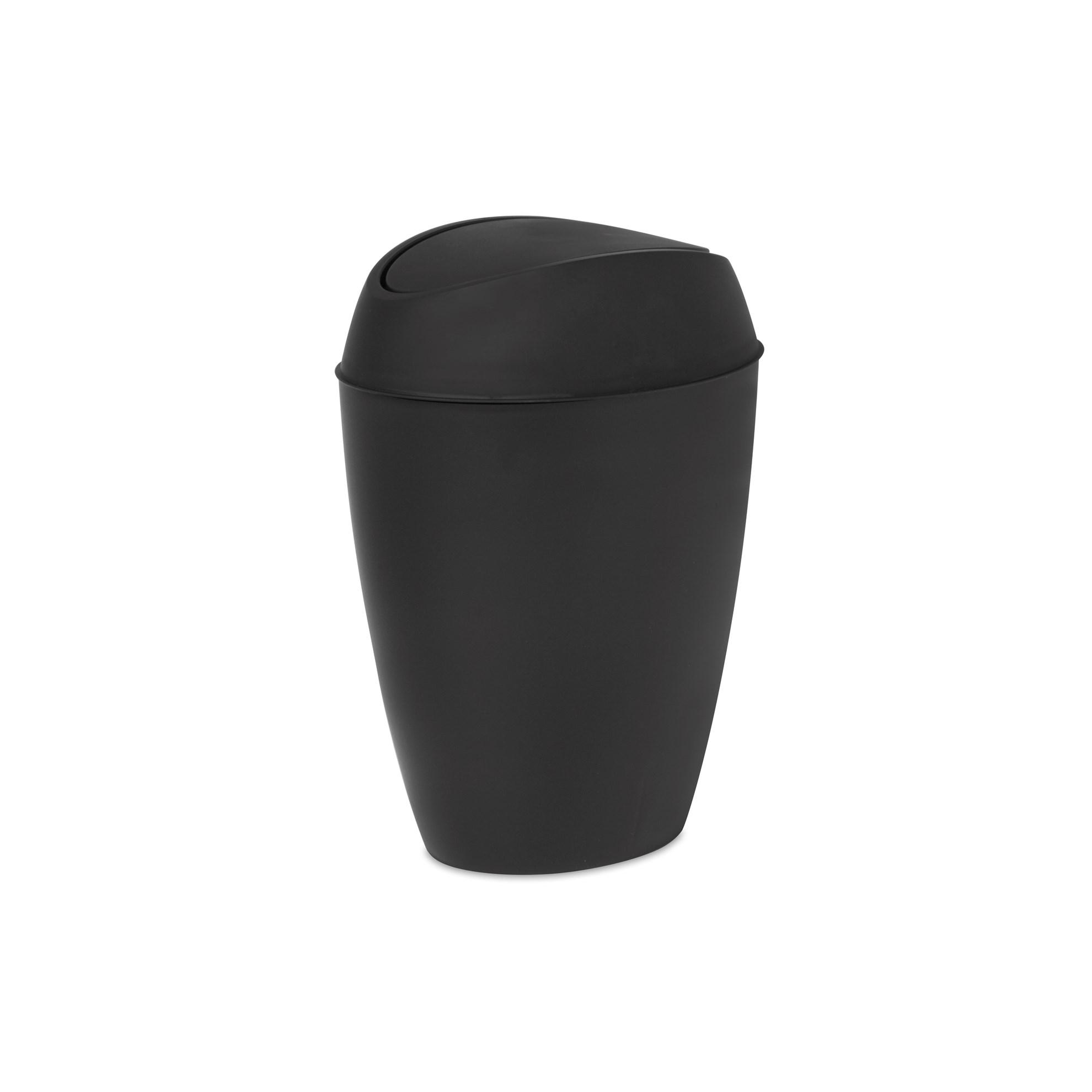 Odpadkový koš TWIRLA černý_0