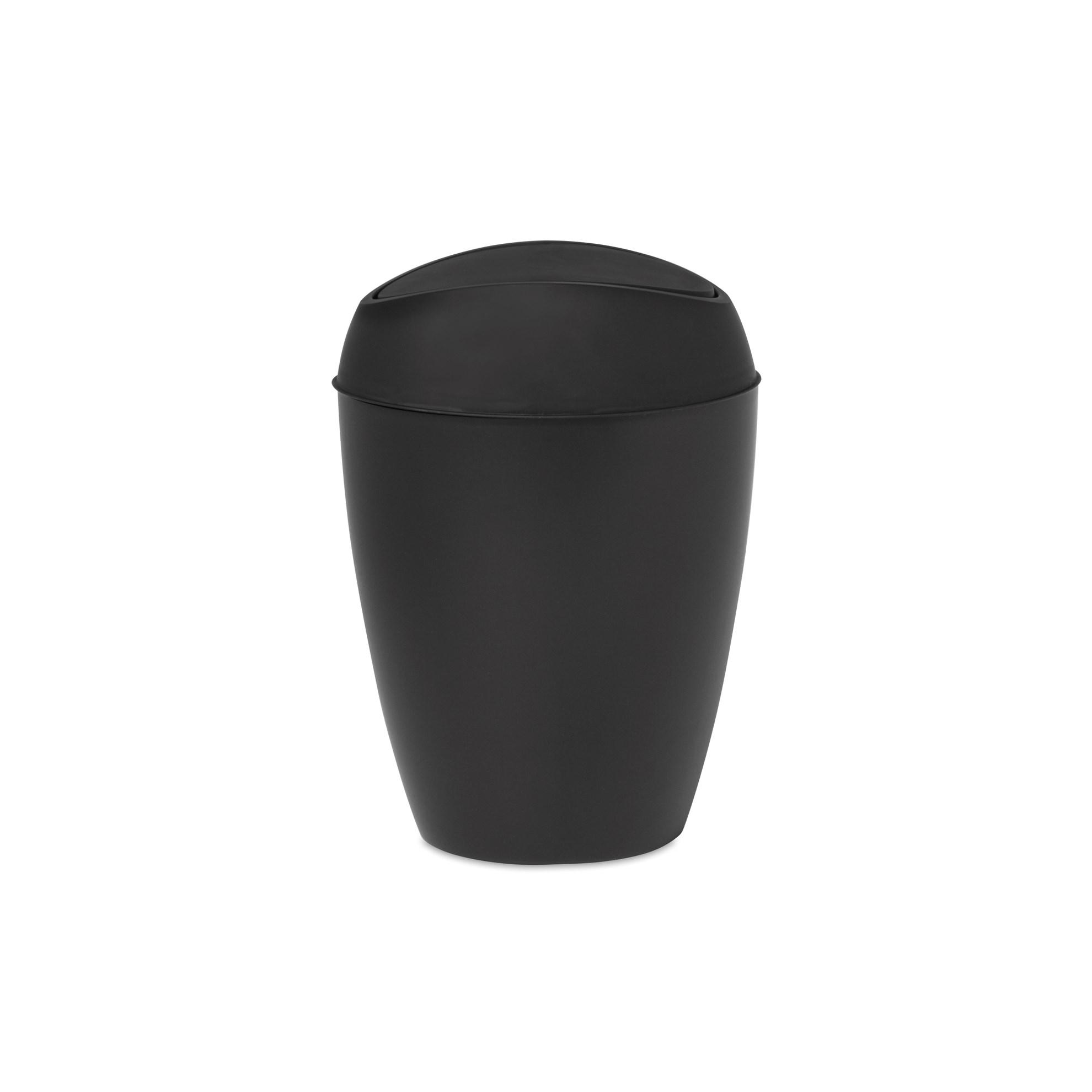Odpadkový koš TWIRLA černý_1