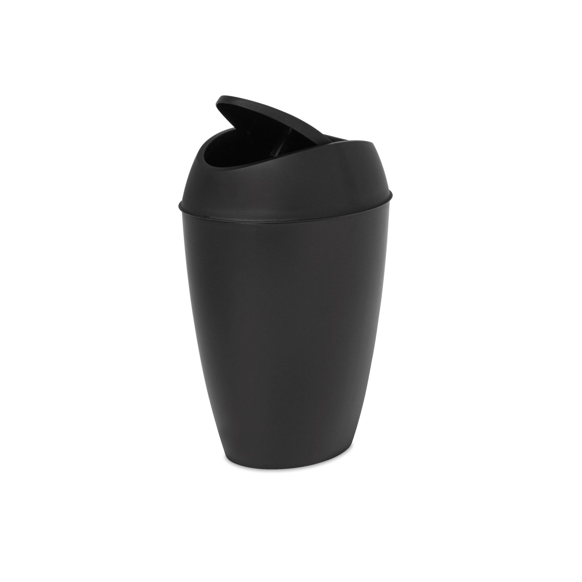 Odpadkový koš TWIRLA černý_2