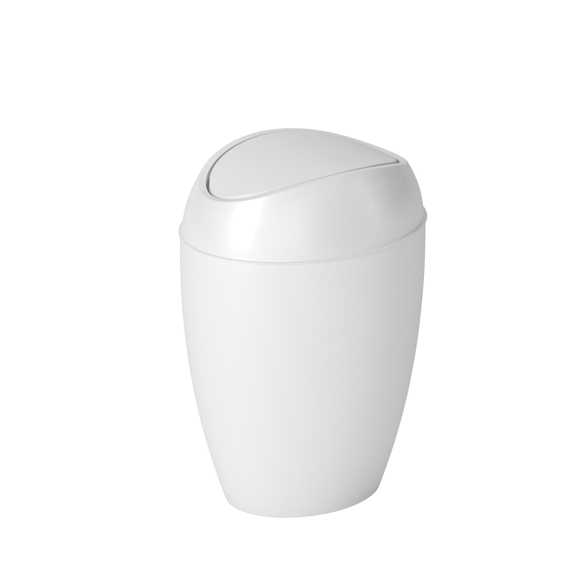 Odpadkový koš TWIRLA bílý_0