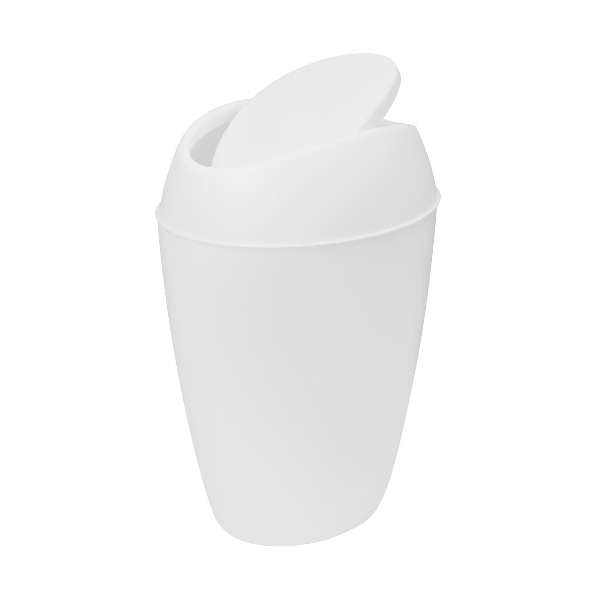 Odpadkový koš TWIRLA bílý_1