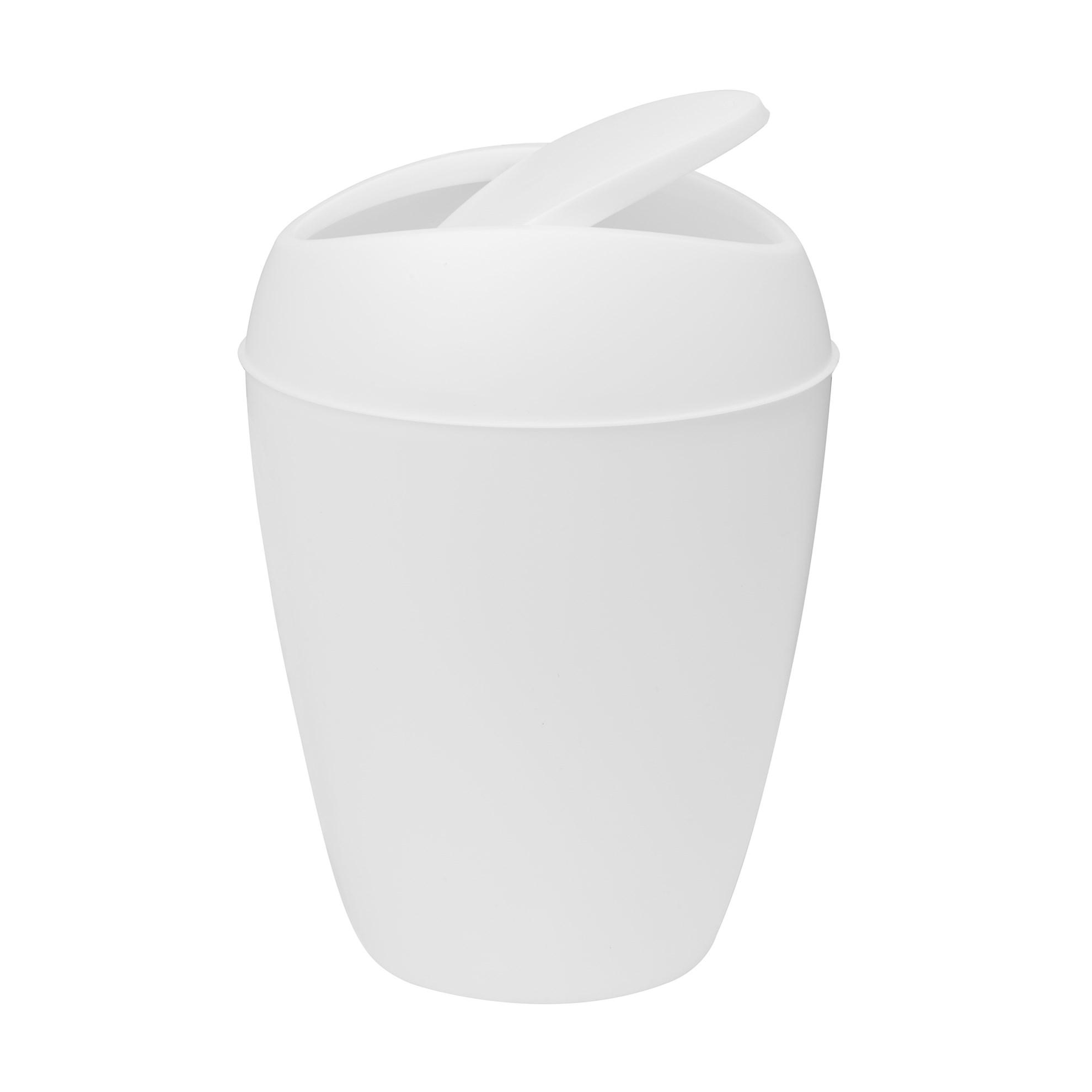 Odpadkový koš TWIRLA bílý_2