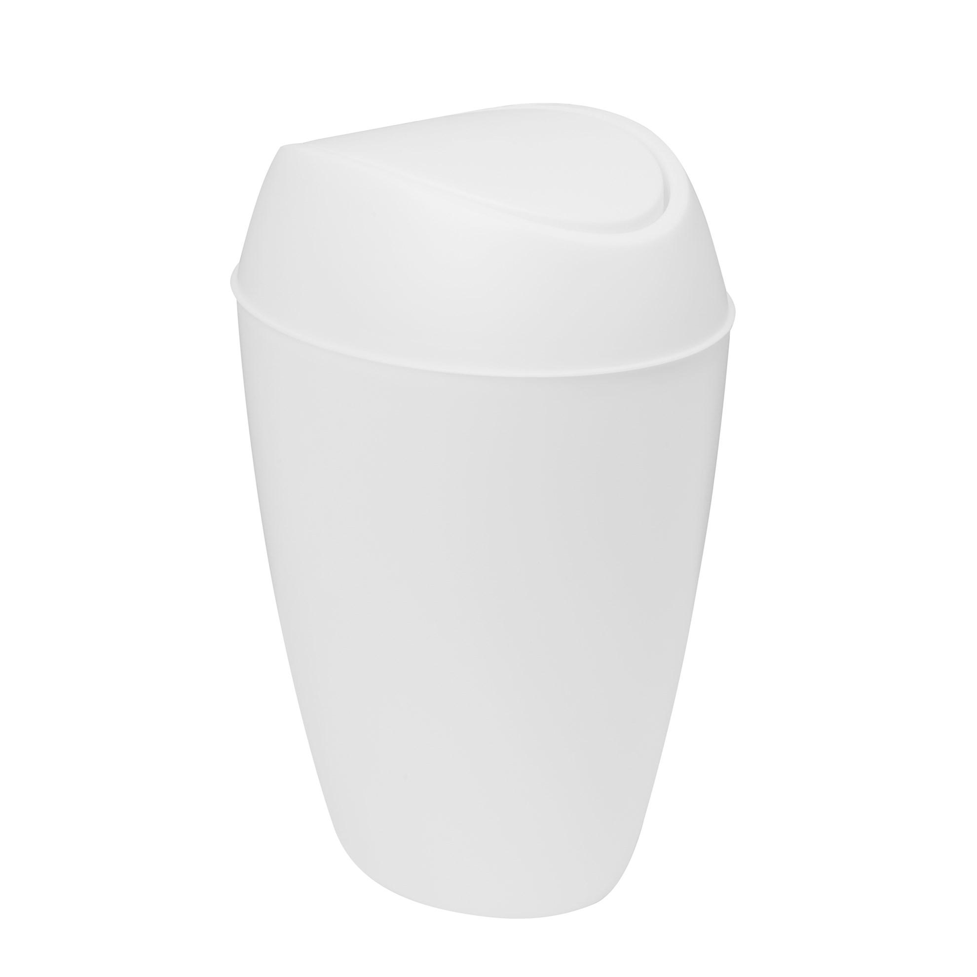 Odpadkový koš TWIRLA bílý_5