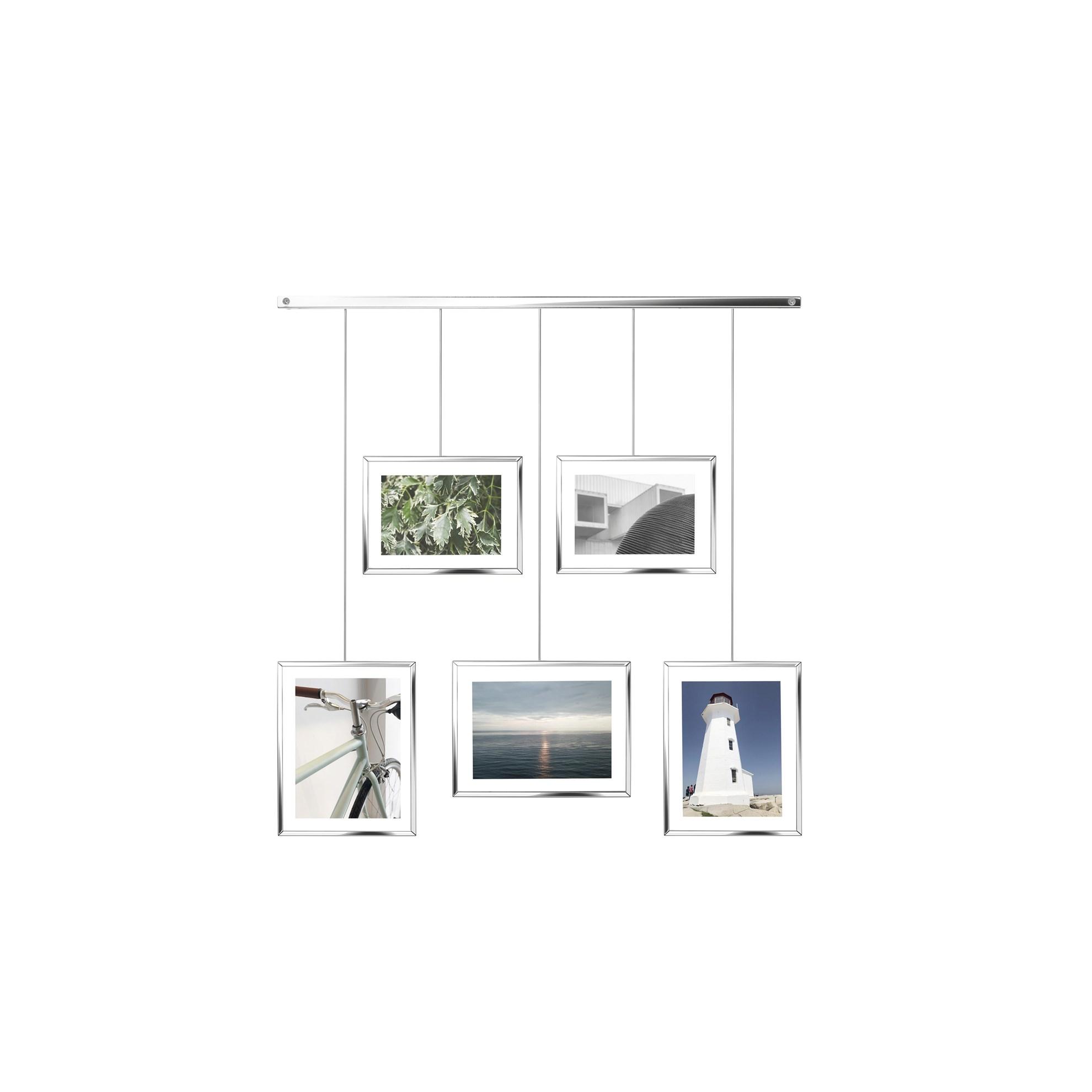 Fotorámečky EXHIBIT stříbrné_0