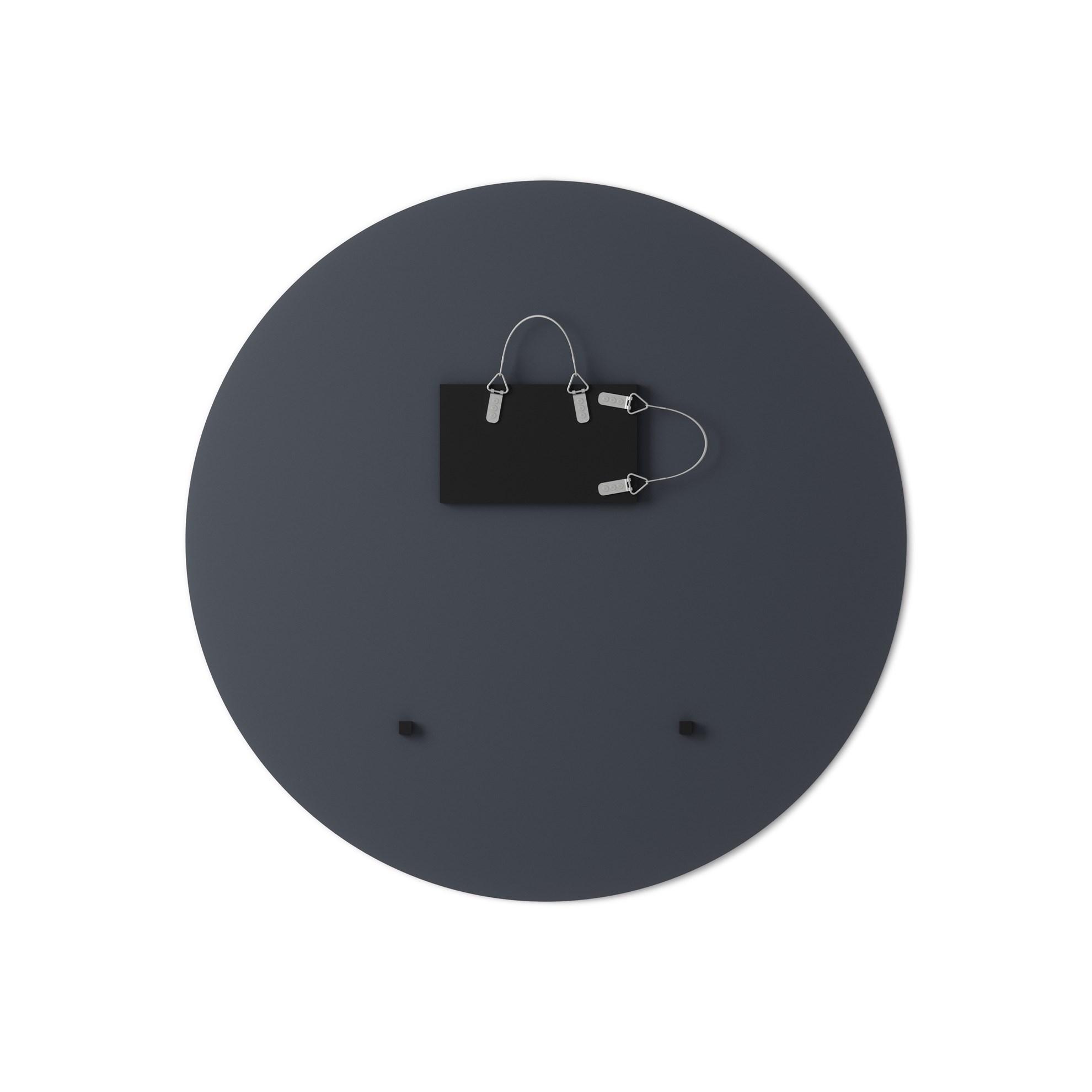 Zrcadlo HUB kouřově šedé 91 cm_0