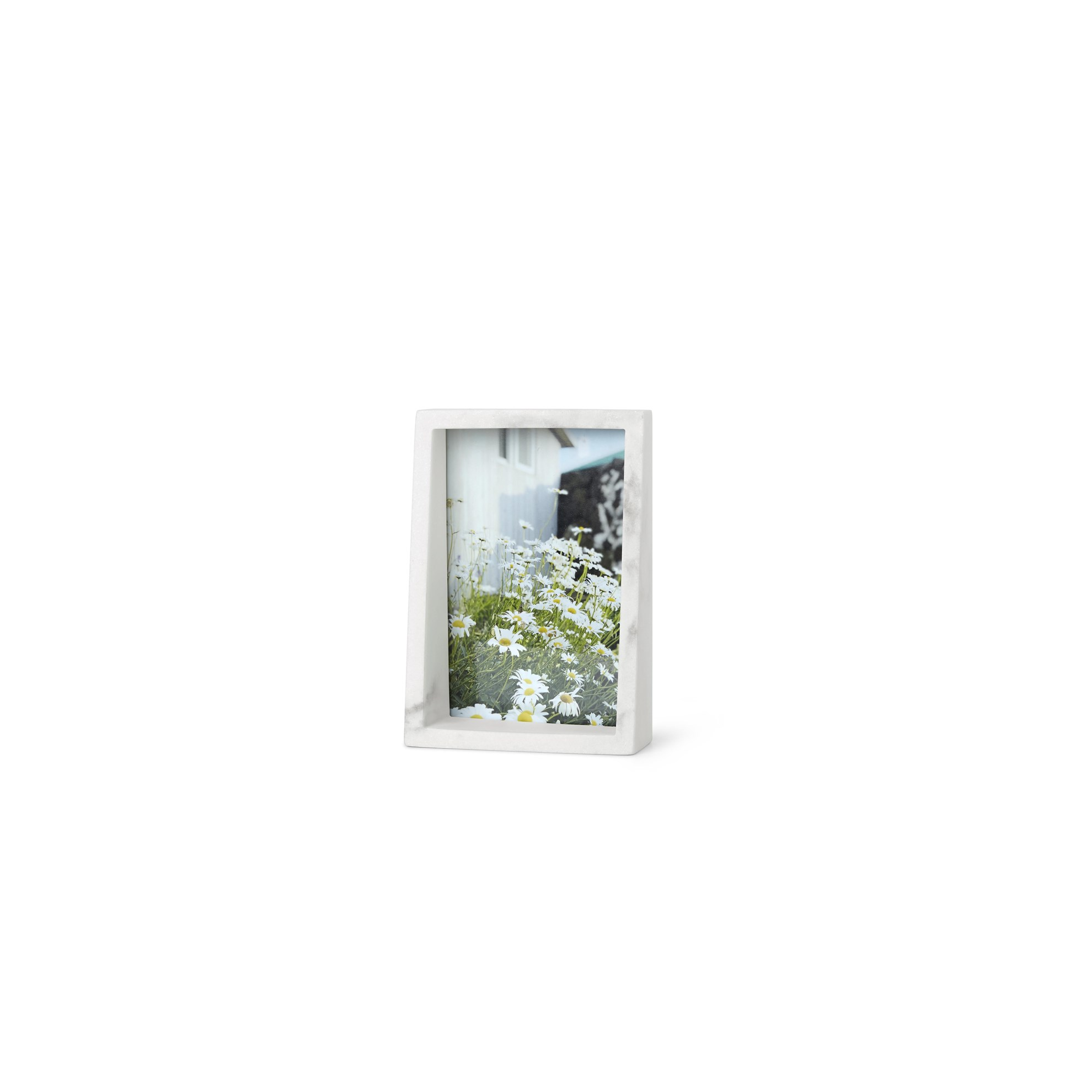 Fotorámeček EDGE MARBLE 10x15 bílý mramor_0