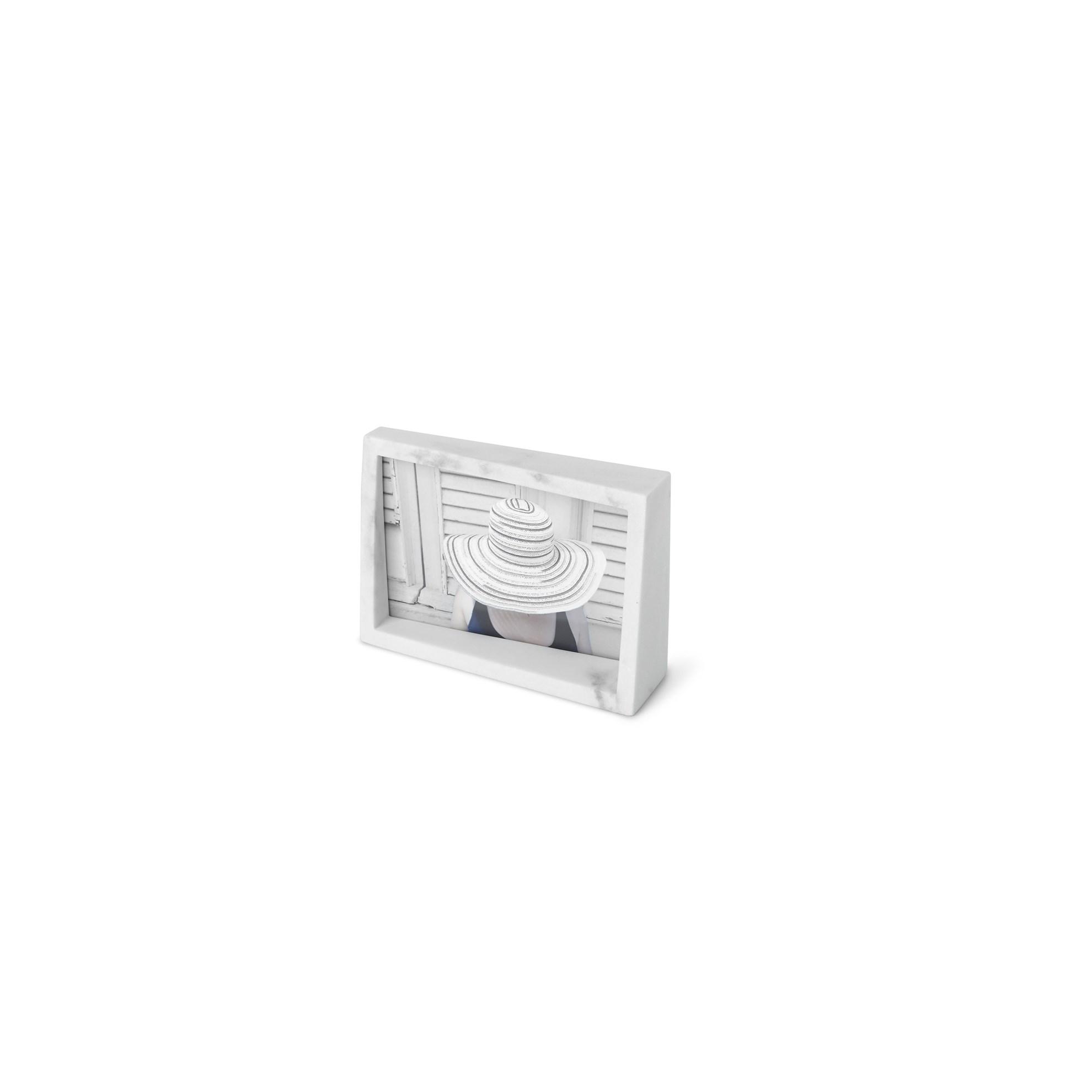 Fotorámeček EDGE MARBLE 10x15 bílý mramor_2