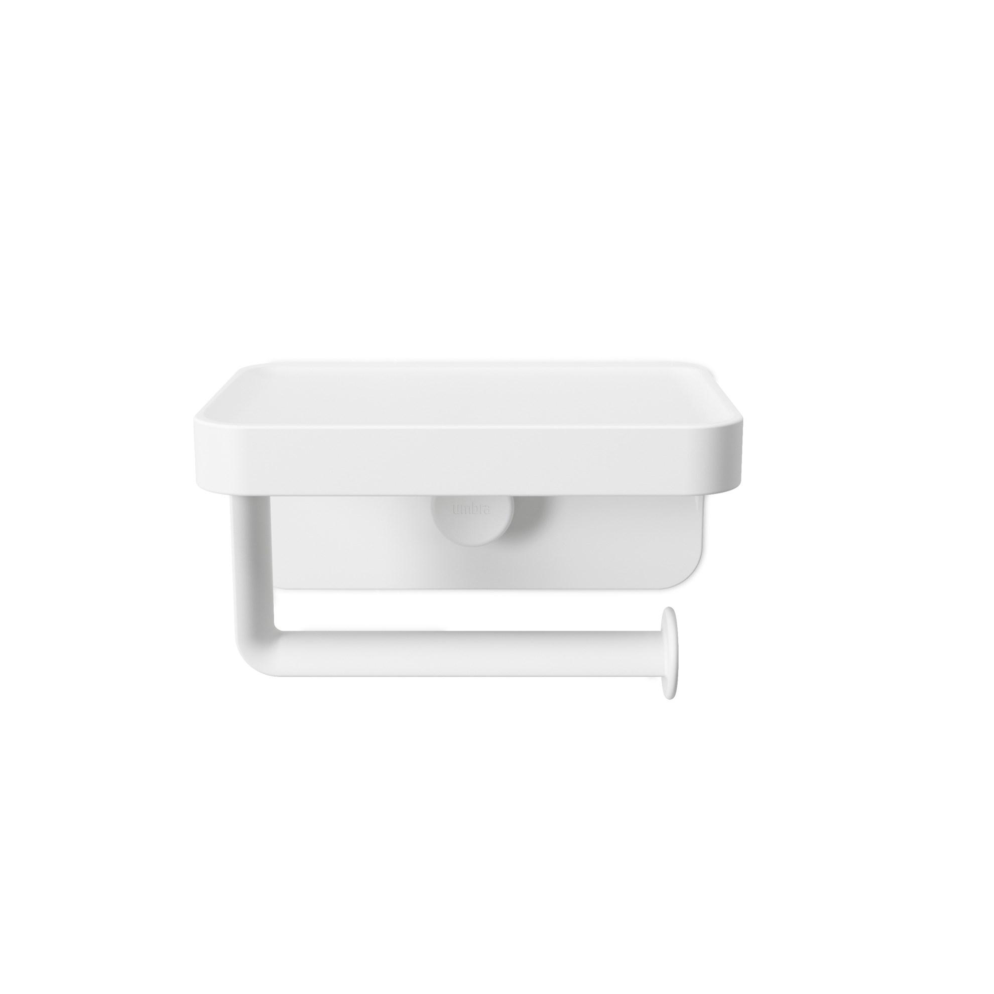 Držák na toaletní papír FLEX bílý_0